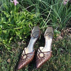 BCBG Strappy Sandals Heels Pumps